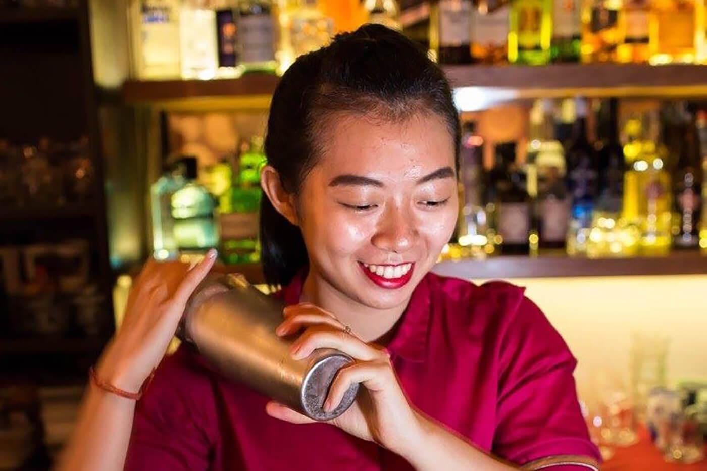 Demitria Dana Paramita, Bonfire Restaurant & Bar, Kuala Lumpur